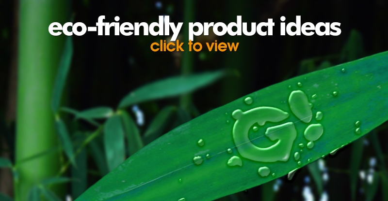 Eco Friendly Product Ideas