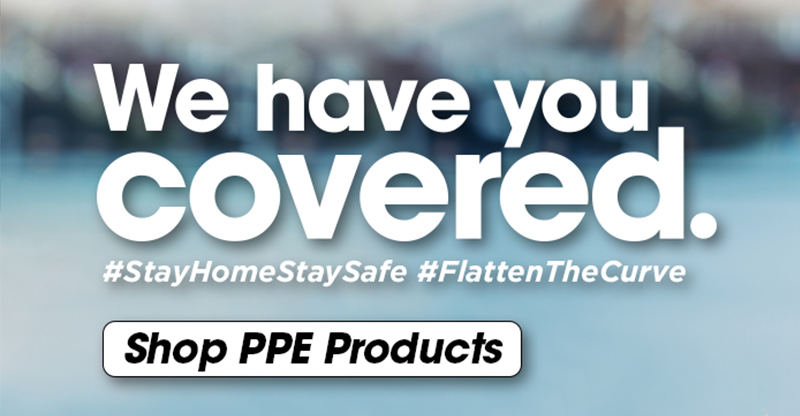 We Have You Covered With PPE